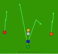 honeydew is a 6 on 6 flag football play