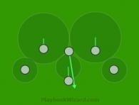 defensive 6 on 6 flag football plays